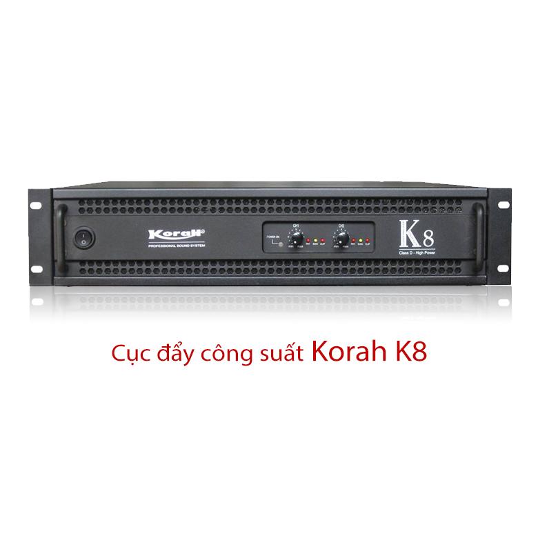 Cục đẩy công suất Korah K8