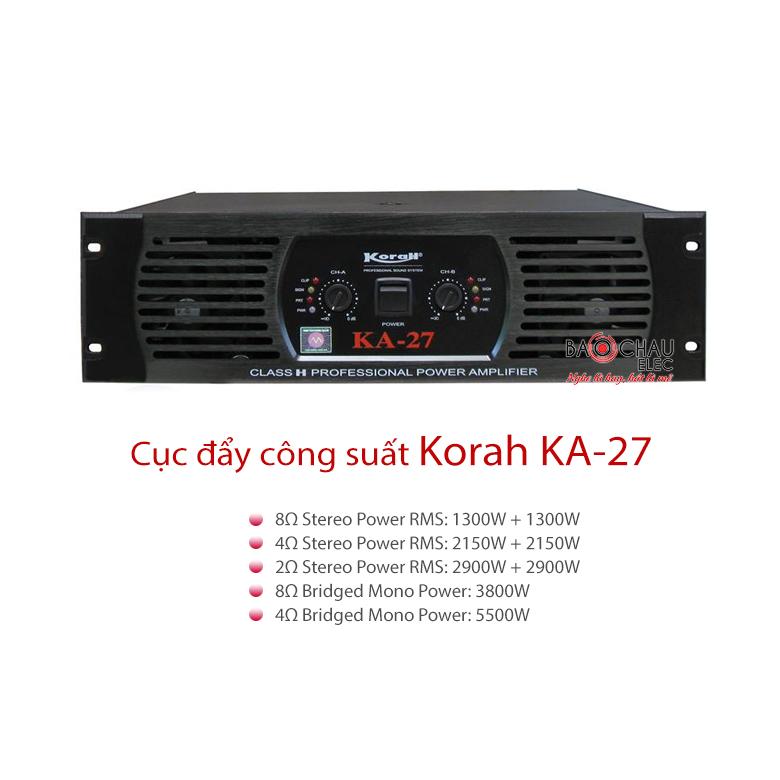 Cục đẩy Korah KA-27