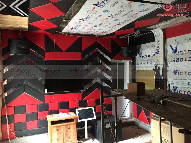 Công trình phòng hát kinh doanh VIP của anh Chung Lạng Sơn