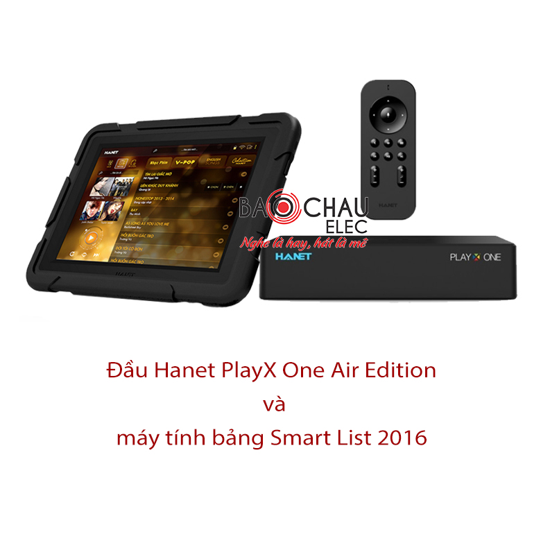 Bộ đầu Hanet PlayX One Air Edition và Smart List 2016
