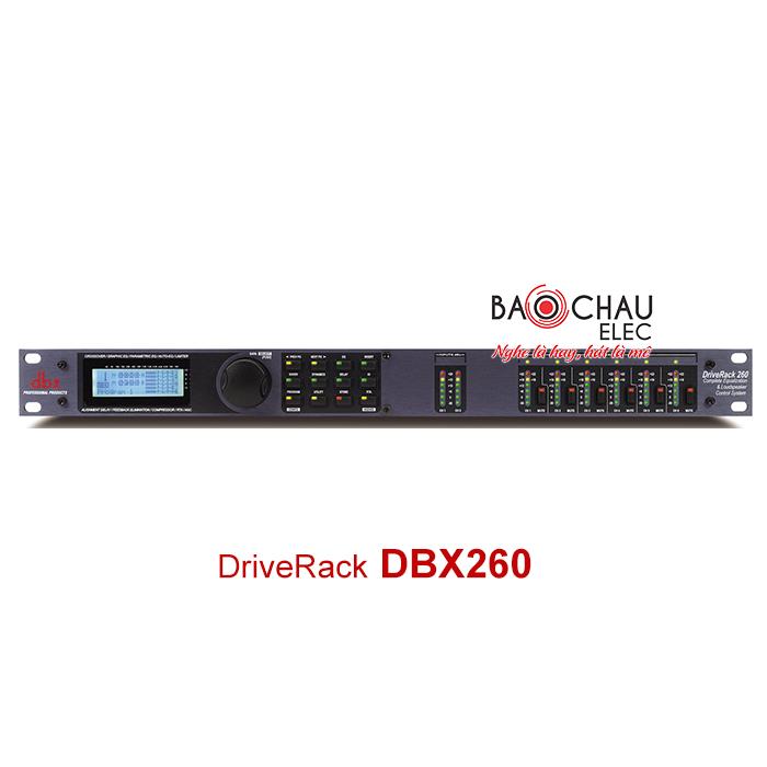 Bộ xử lý DriveRack DBX PA260
