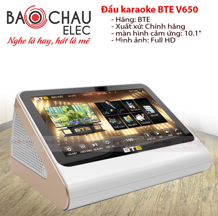 Đầu karaoke BTE V650 1TB