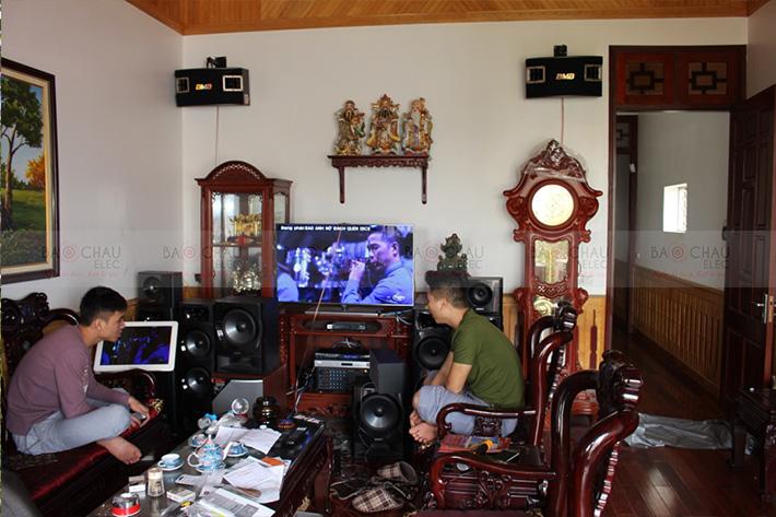 Karaoke gia dinh tai Cho Le Hung Yen 09