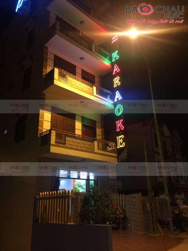Thi công phòng hát karaoke Newking Bắc Giang