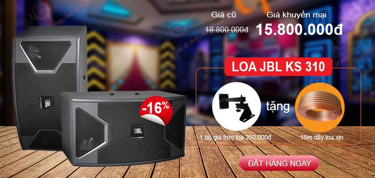 Khuyến mại giá cực tốt cho loa JBL KS310