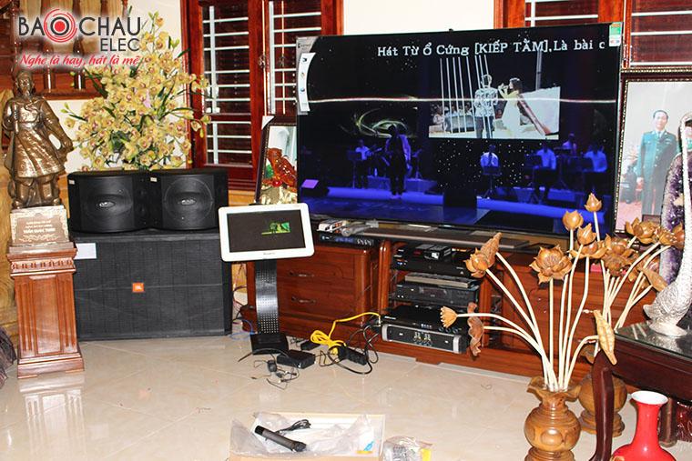 Lắp đặt bộ dàn karaoke cao cấp cho biệt thự tại Tuyên Quang