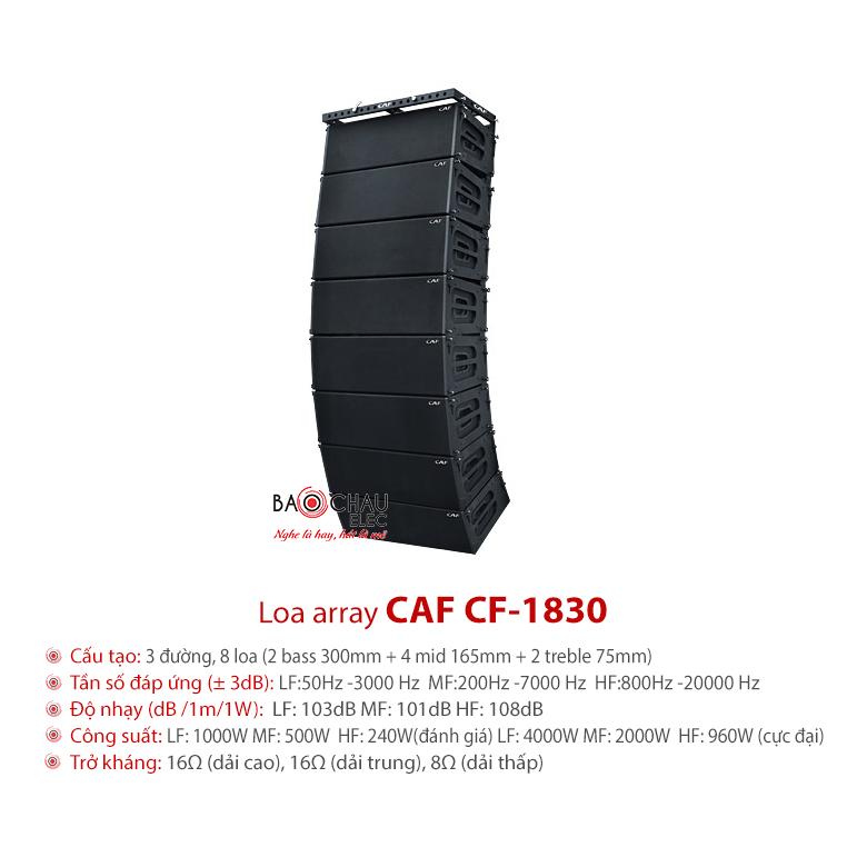 Loa hội trường array CAF CF-1830