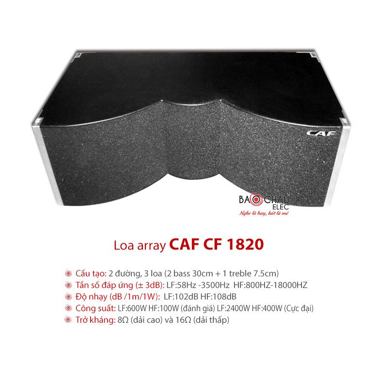 Loa sân khấu array CAF CF-1820
