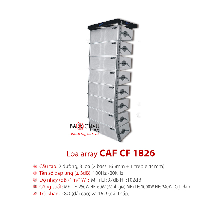 Loa hội trường CAF CF-1826