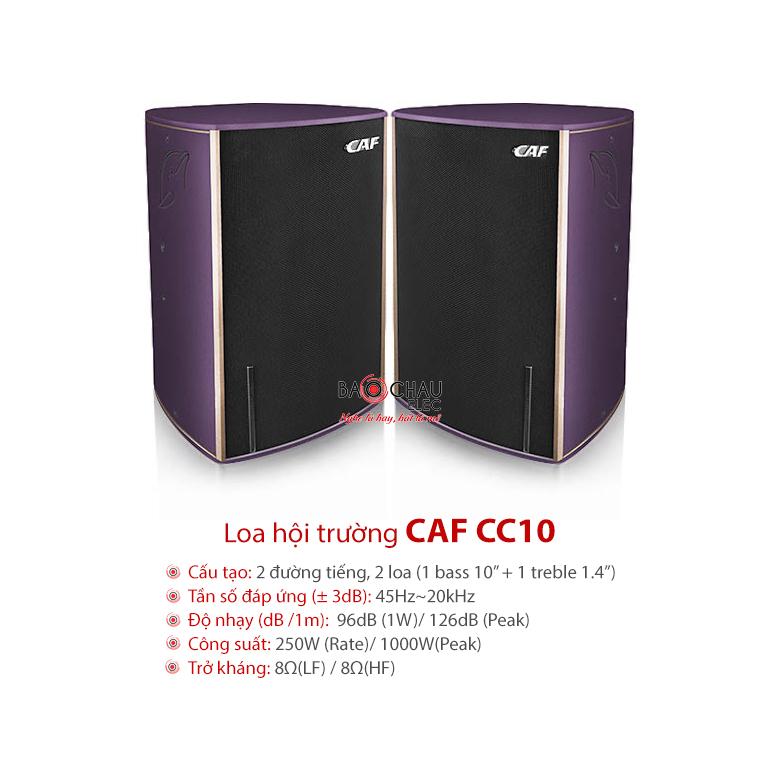 Loa CAF CC10