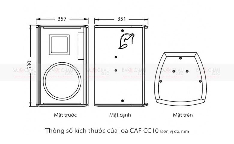 loa-caf-cc10-cau-tao-kich-thuoc