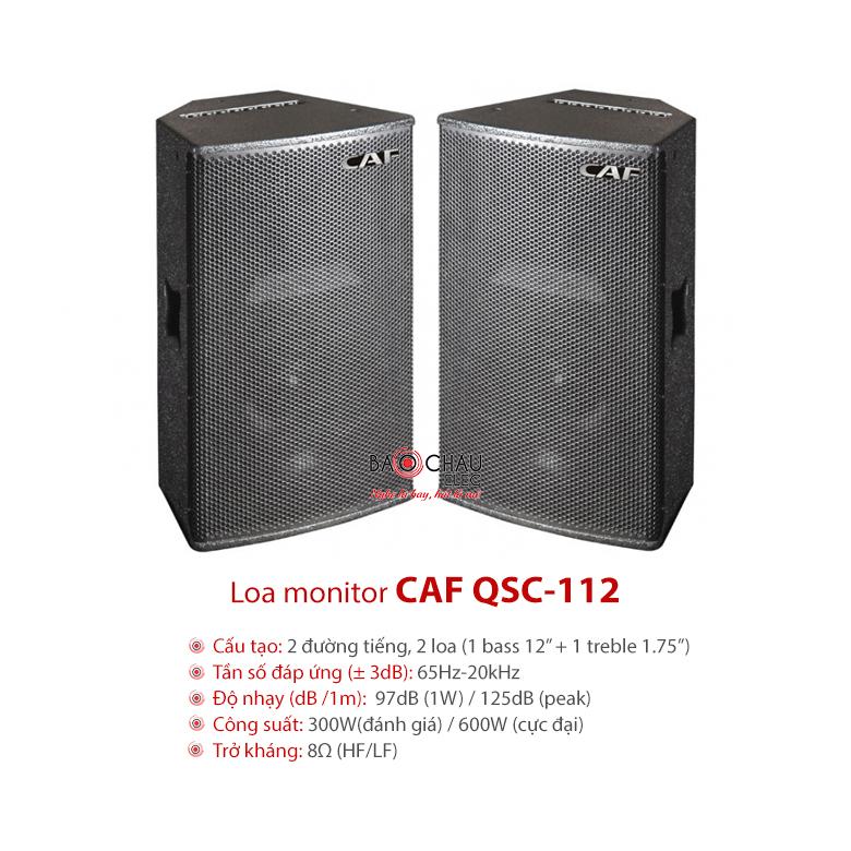 Loa CAF QSC 112