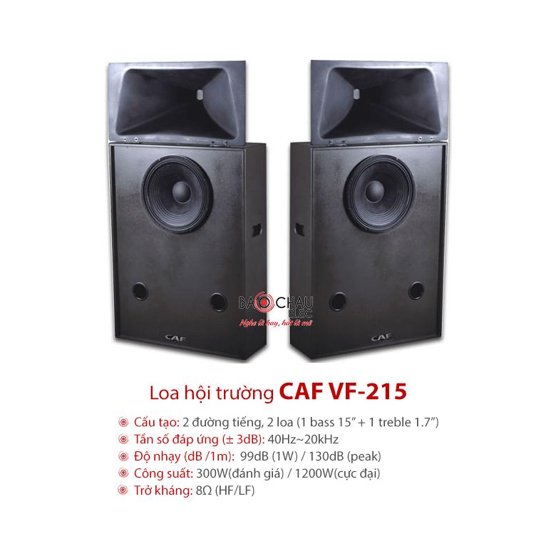 Loa CAF VF 215