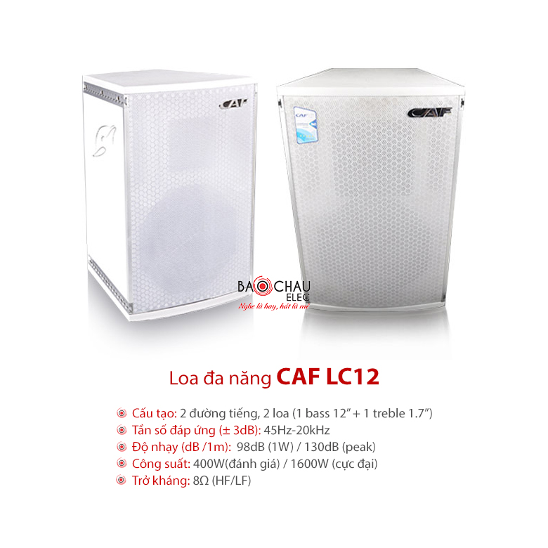 Loa hội trường CAF LC12