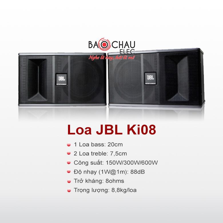 Loa karaoke JBL Ki08