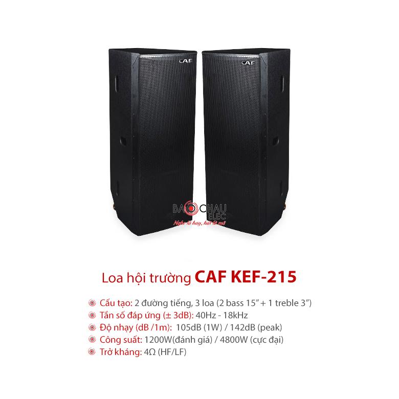 Loa CAF KEF 215