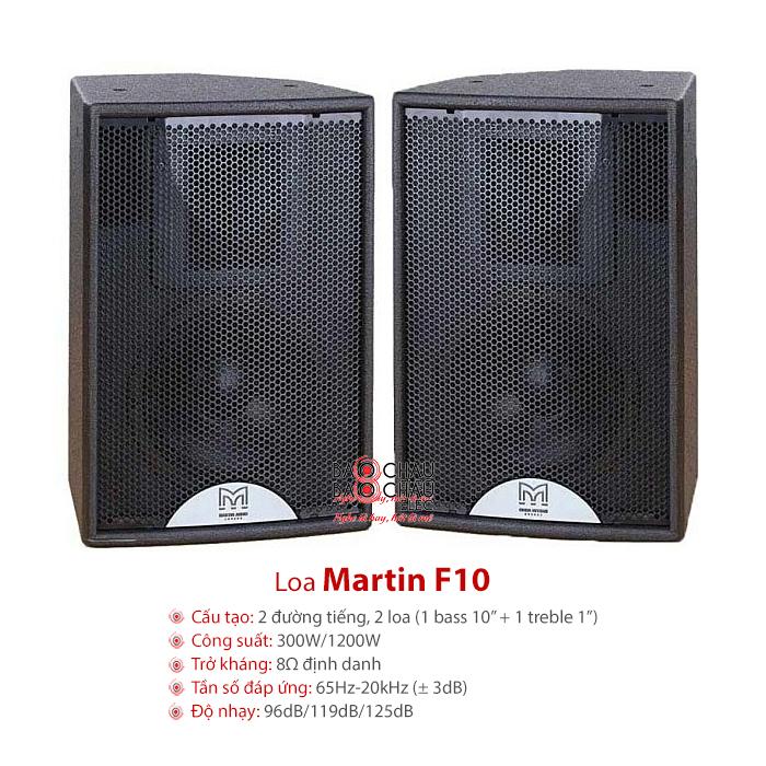 Loa hội trường Martin F10
