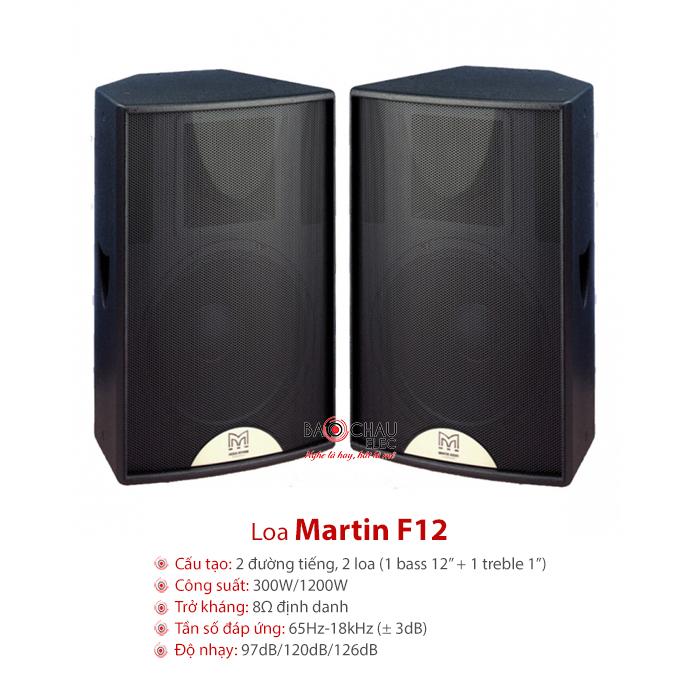 Loa hội trường Martin F12