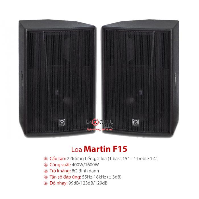 Loa sân khấu Martin F15