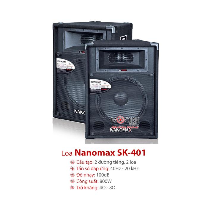 Loa Nanomax SK 401