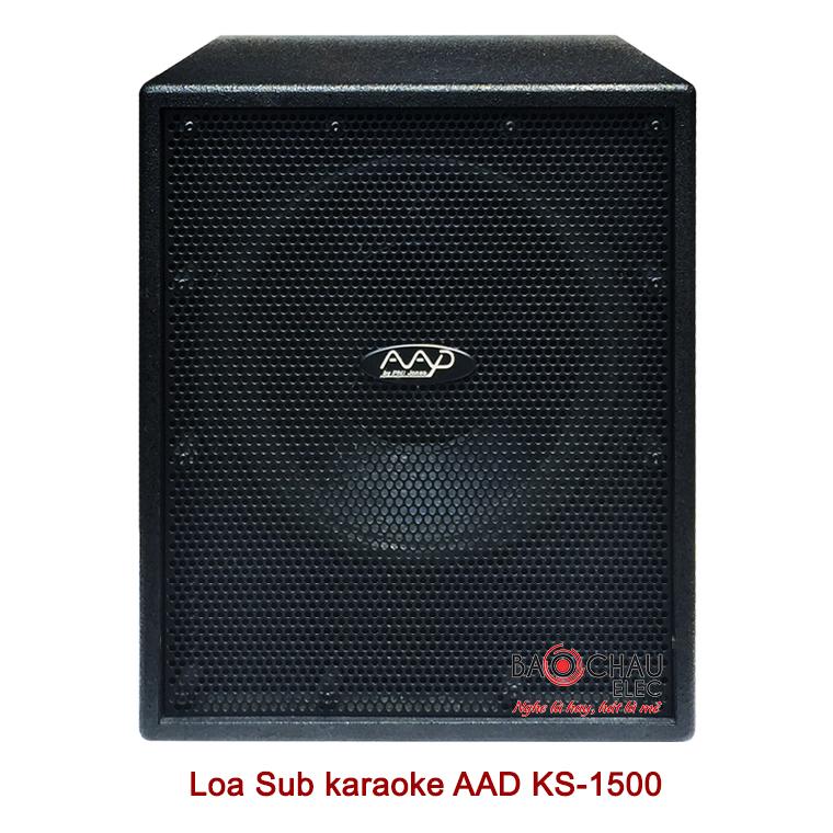 Loa sub AAD KS-1500 mat truoc