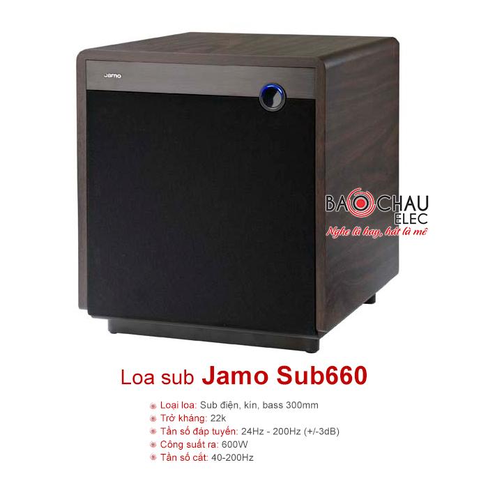 Loa sub Jamo Sub660