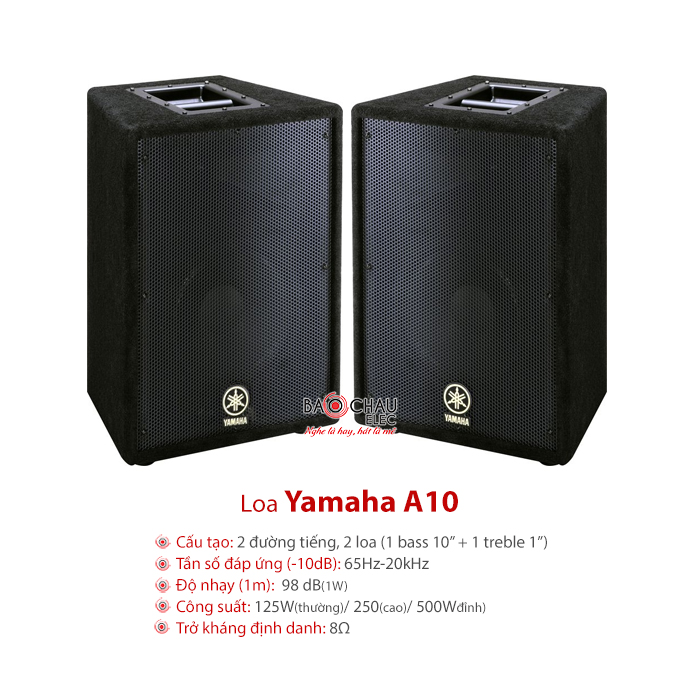Loa Yamaha A10