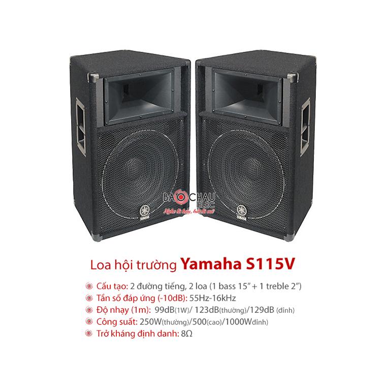 Loa sân khấu Yamaha S115V