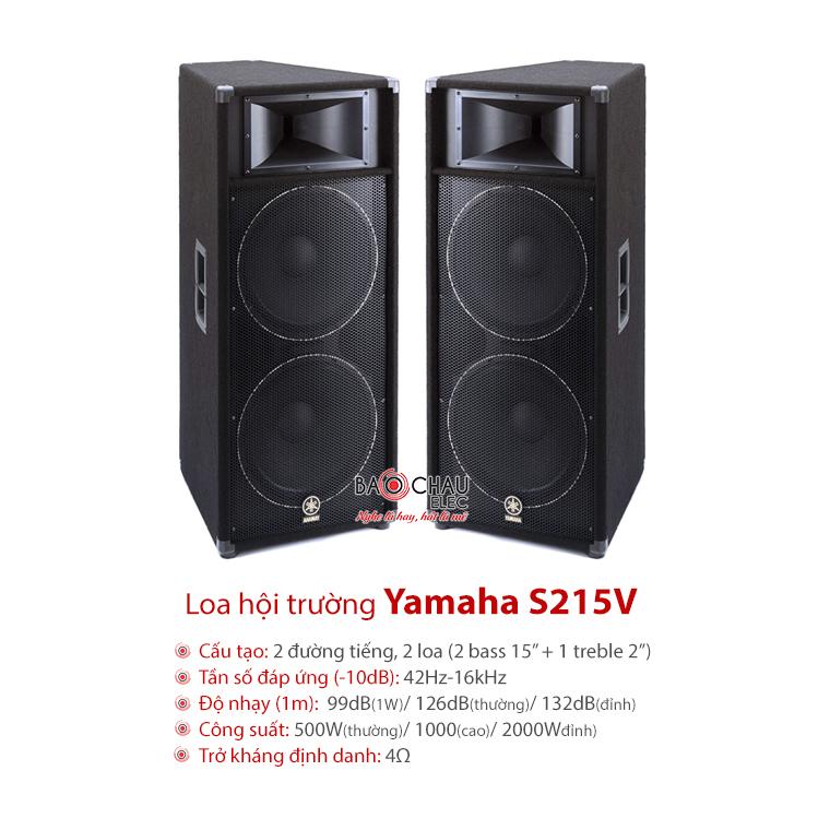 Loa sân khấu Yamaha S215V