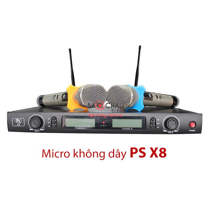 Micro không dây PS X8