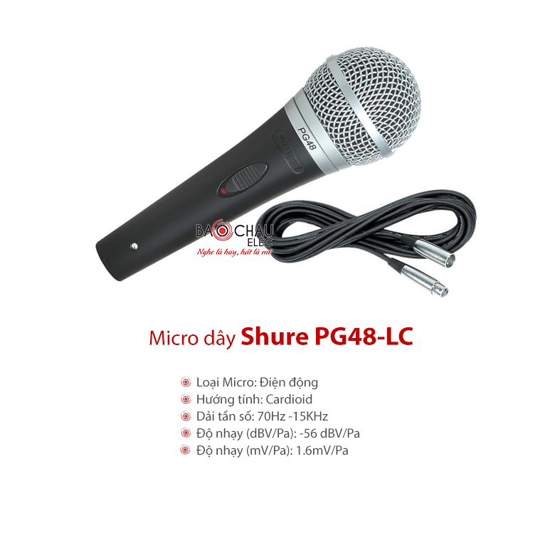 Micro Shure PG48-LC