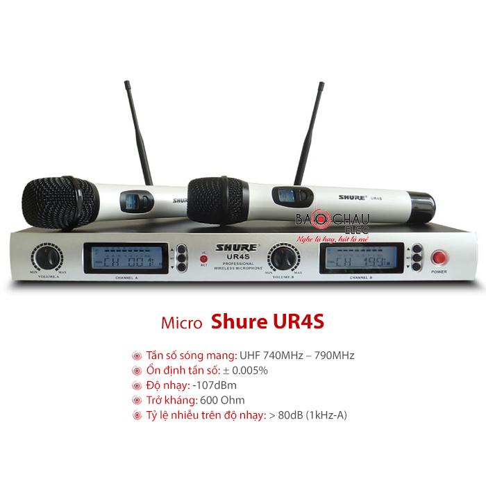 Micro Shure UR4S