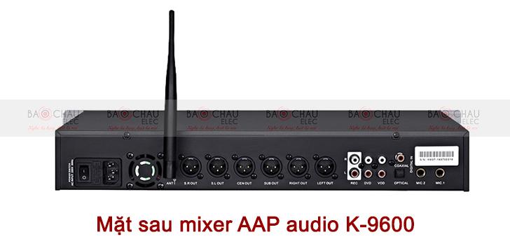 Mixer AAP audio K-9600 mat sau