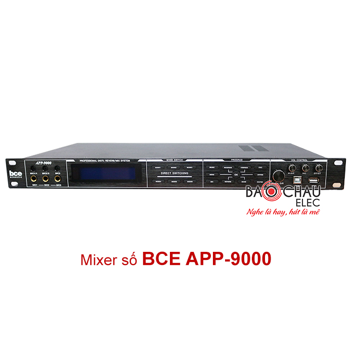 Vang số BCE APP 9000