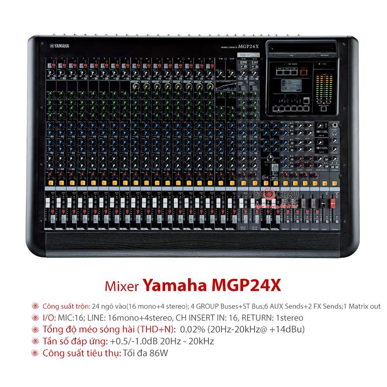 Mixer Yamaha MGP24X