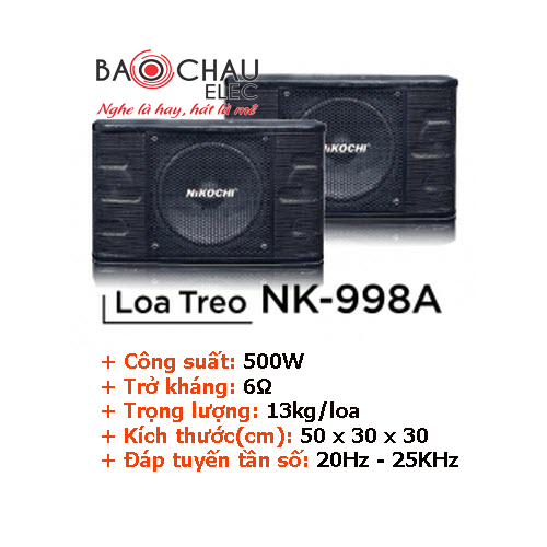 Loa treo Nikochi 998A
