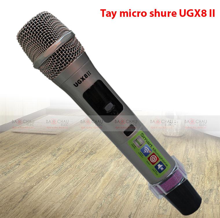 Tay micro không dây Shure UGX8 II