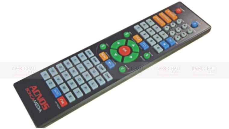 Remote tiện lợi đi kèm vời đầu Acnos SK399HDMI