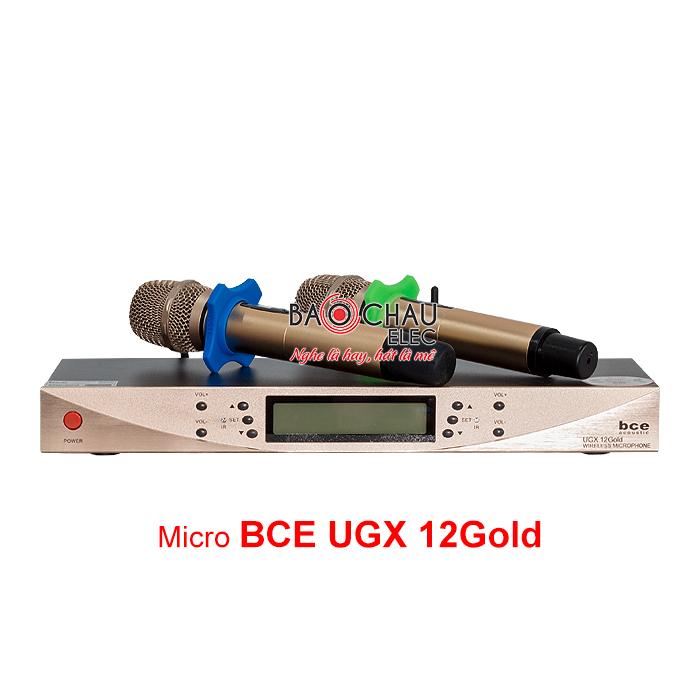Micro BCE UGX12 Gold