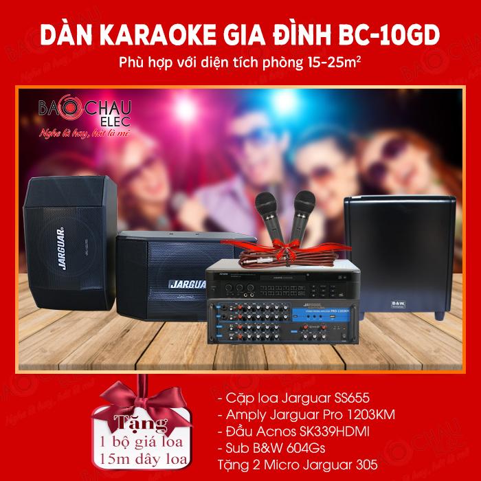 Dàn karaoke gia đình BC-10GD