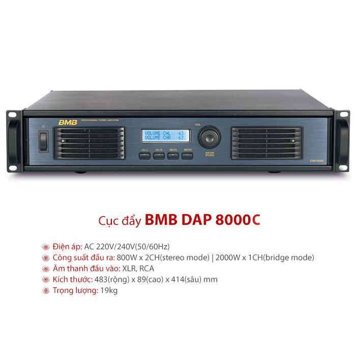 Cục đẩy BMB DAP 8000C