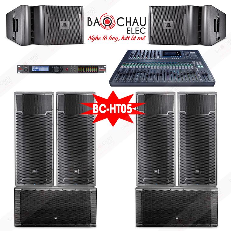Dàn âm thanh hội trường BC-HT05