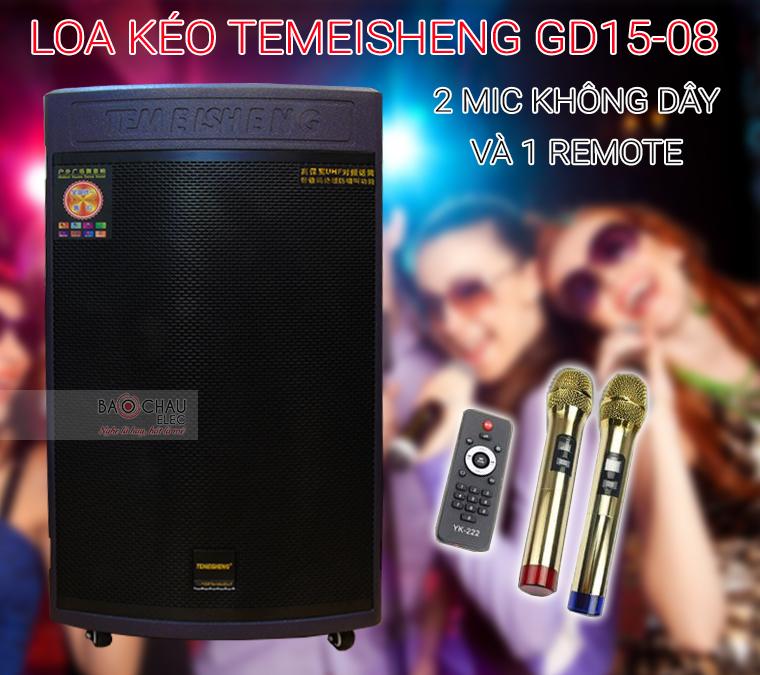 Loa kéo Temeisheng GD15-08 và phụ kiện