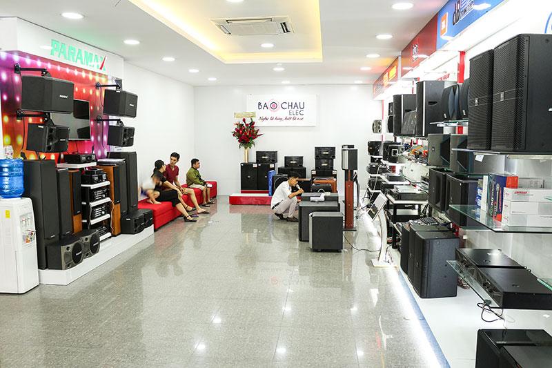 Bảo Châu Elec - đơn vị hàng đầu trong lĩnh vực cung cấp và lắp đặt thiết bị âm thanh