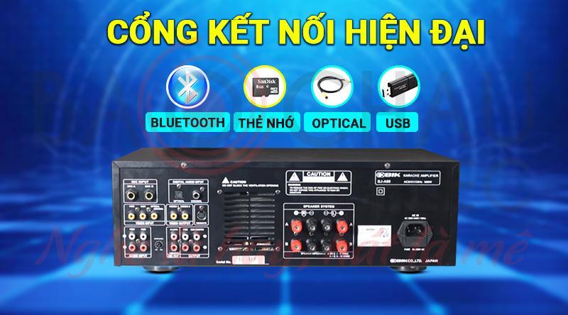 Amply BIK BJ-A88 kết nối đa dạng