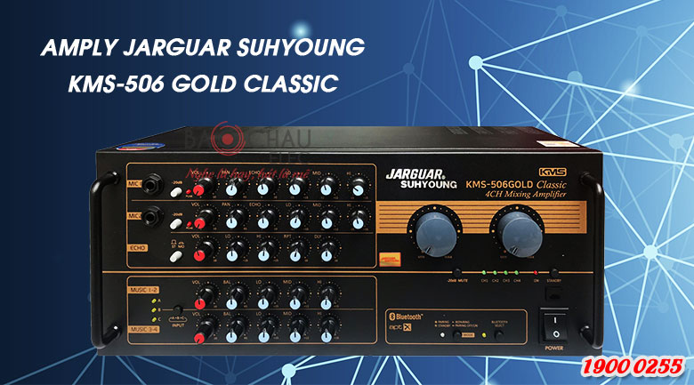 Mặt trước Amply Jarguar Suhyoung KMS506 Gold Classic
