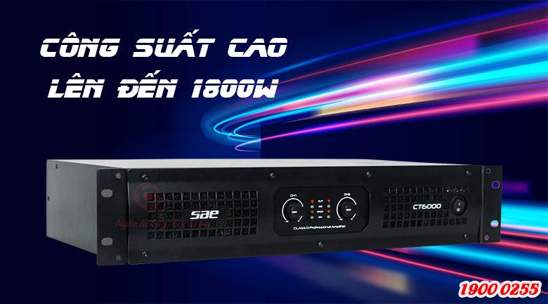 Cục đẩy công suất SAE CT6000