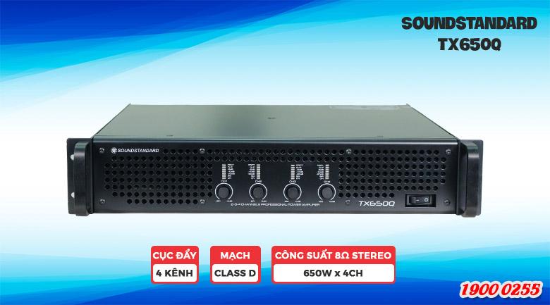 Cục đẩy công suất Soundstandard khuếch đại âm thanh mạnh mẽ