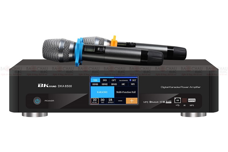 Digital Karaoke Power Amplifier BKSound DKA 6500 chính hãng