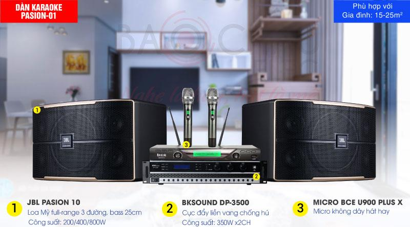 Bảo Châu Elec cung cấp dàn karaoke được phối ghép từ những thiết bị chính hãng, cho âm thanh sống động, chân thực